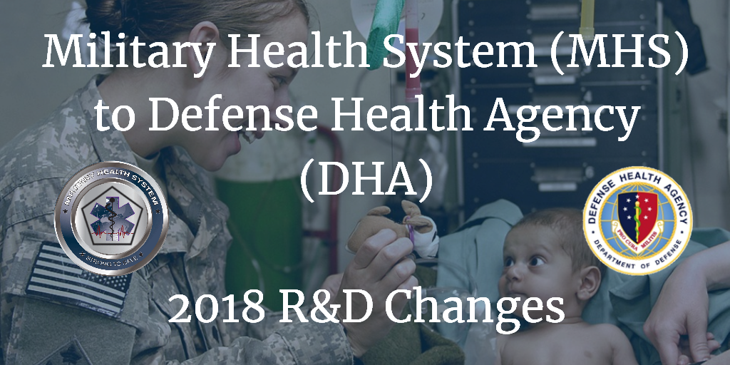 Military Health System Mhs To Defense Health Agency Dha