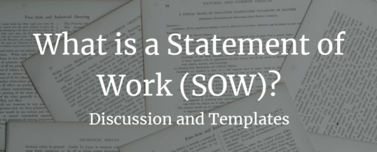 What is a Statement of Work (SOW)?